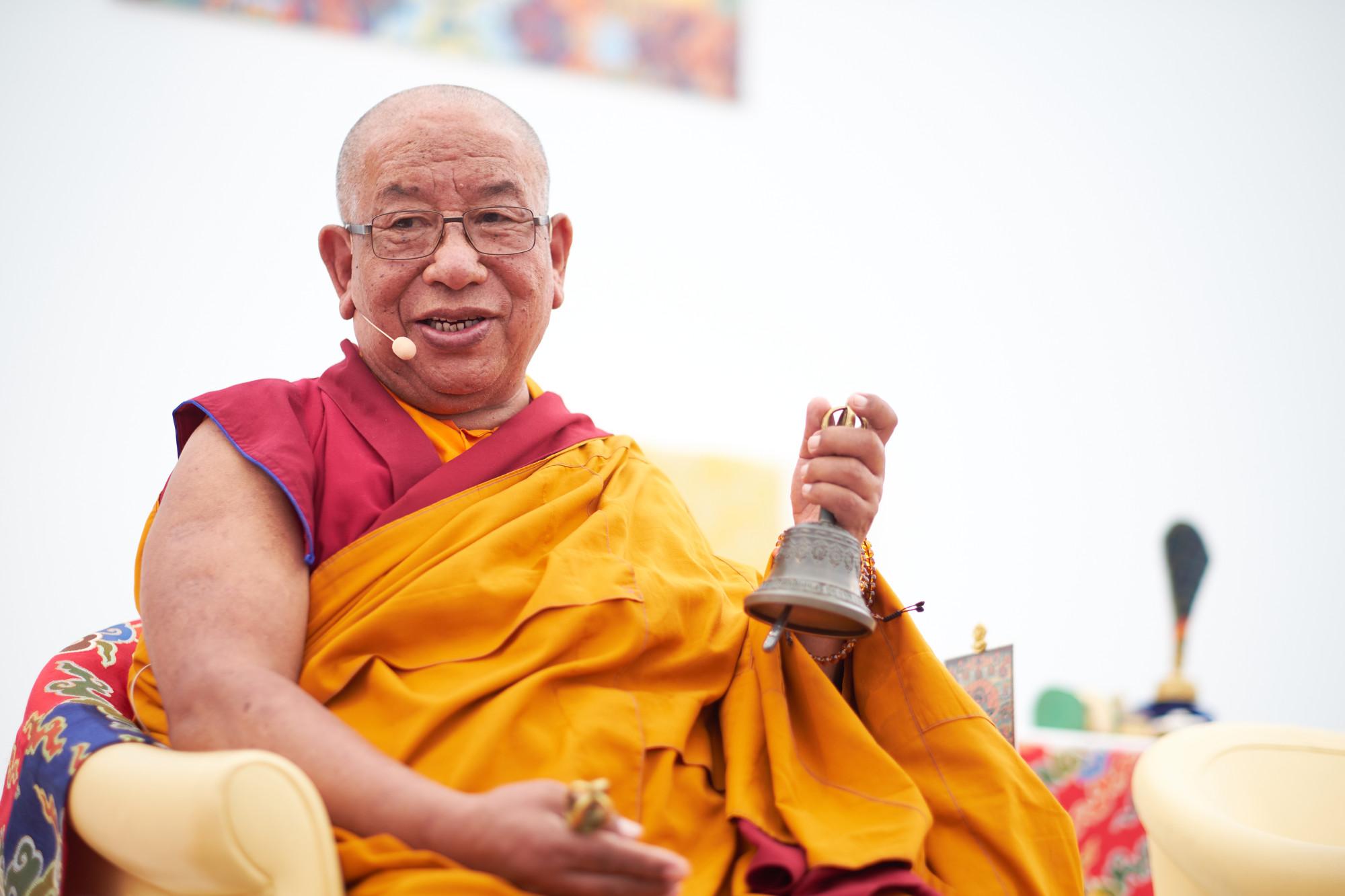 Photo ofSherab Gyaltsen Rinpoche